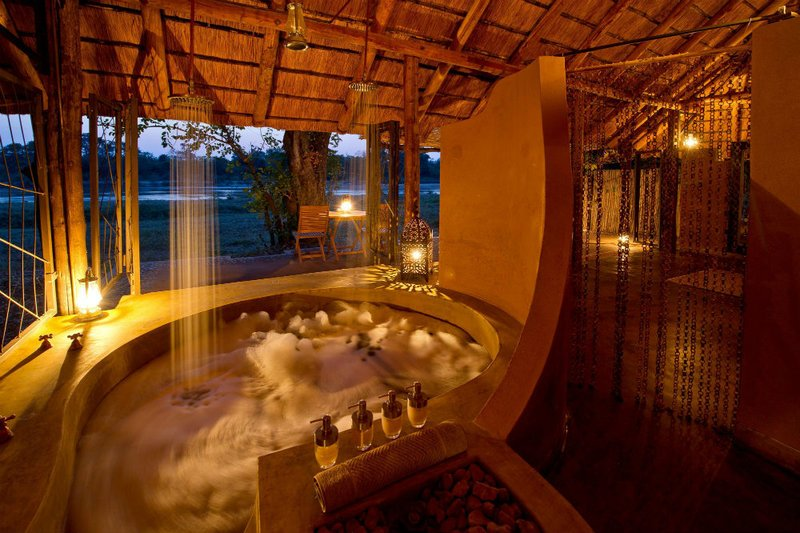 The bushcamp company south luangwa national park zambia for Luxury bathroom companies