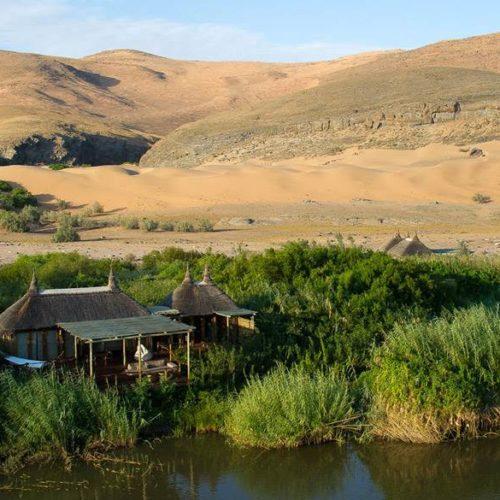 Serra Cafema Camp, Kunene River