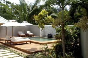Beach Villa Exterior. Plunge Pool