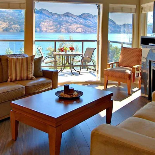 The Cove Lakeside Resort, Okanagan Valley