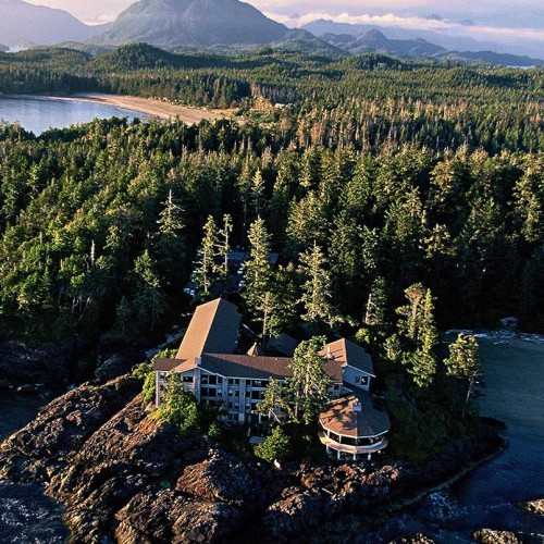 Wickaninnish Inn, Tofino