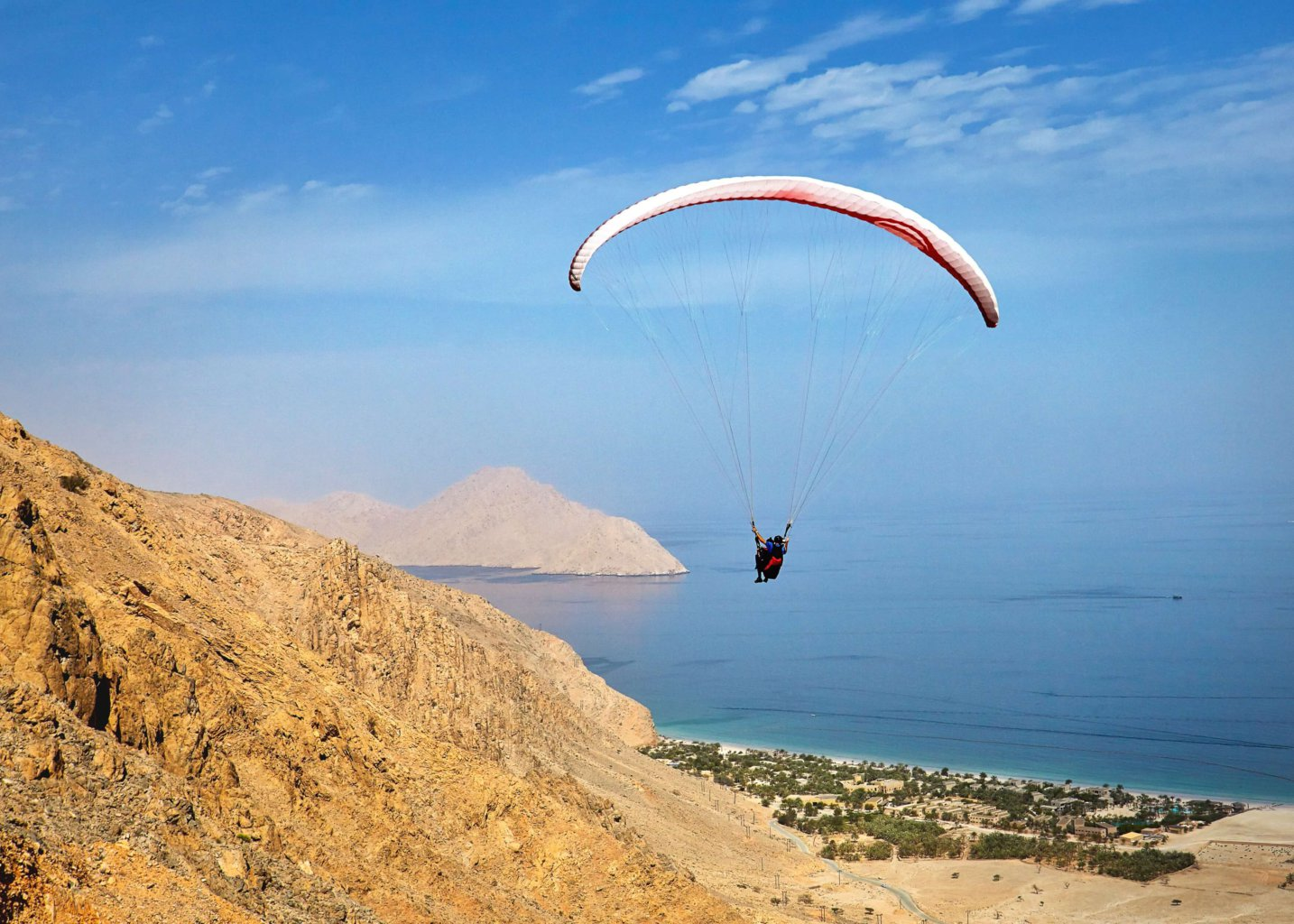 Image result for zighy bay oman parasailing