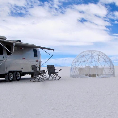 Airstream Campers, Salt Flats