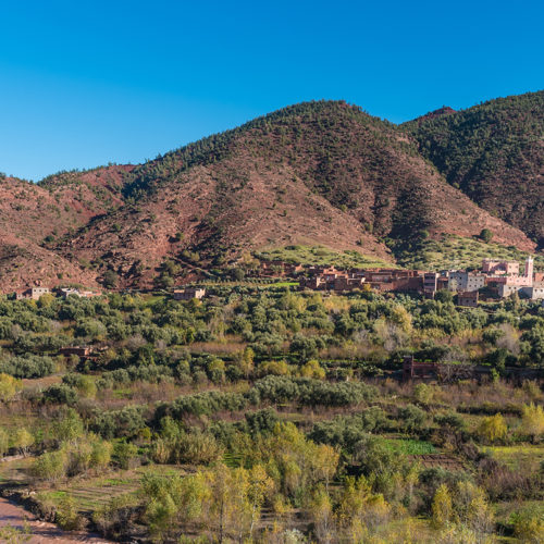 Trekking in Style in the Atlas Mountains