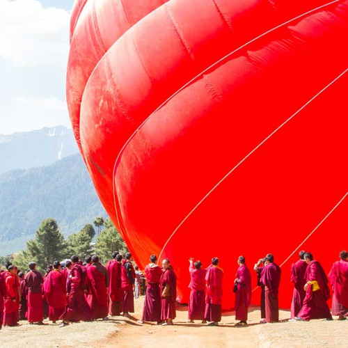 Ballooning in Bhutan
