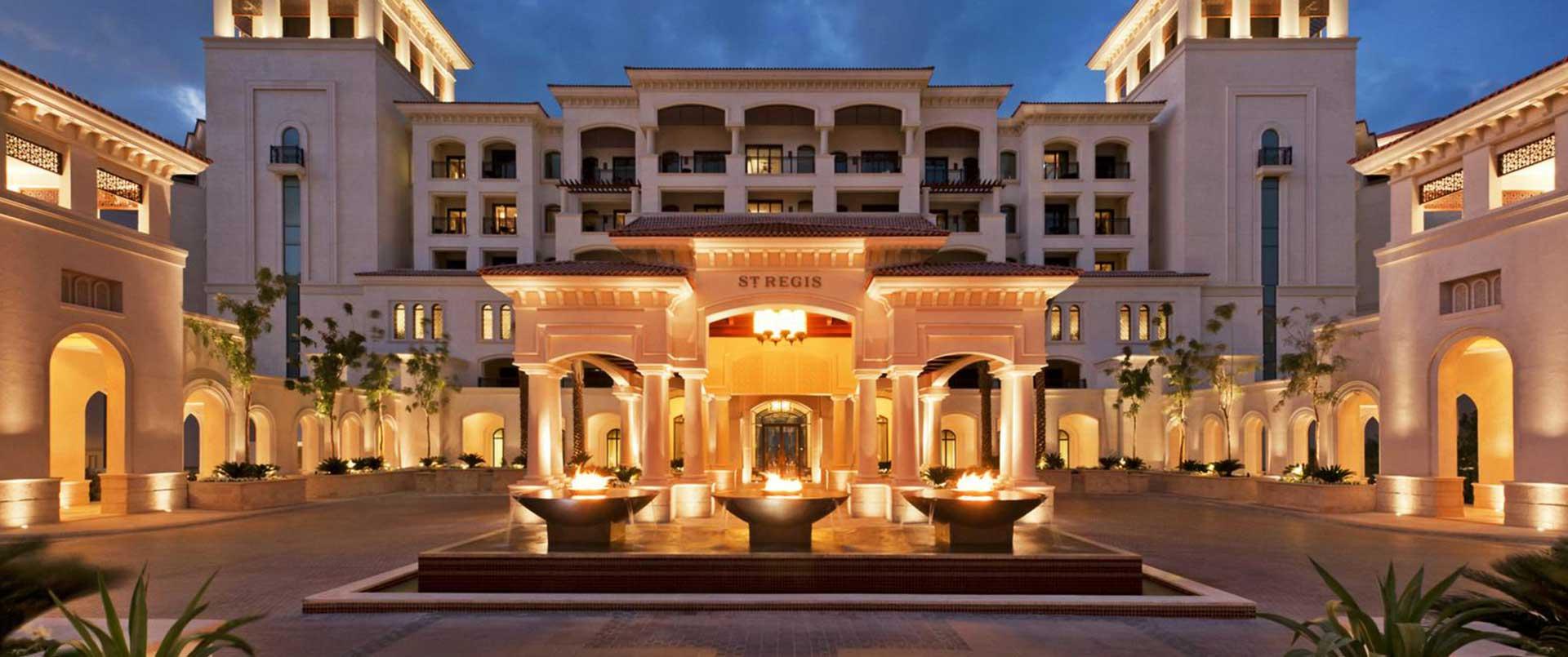 The St Regis Saadiyat Island Resort