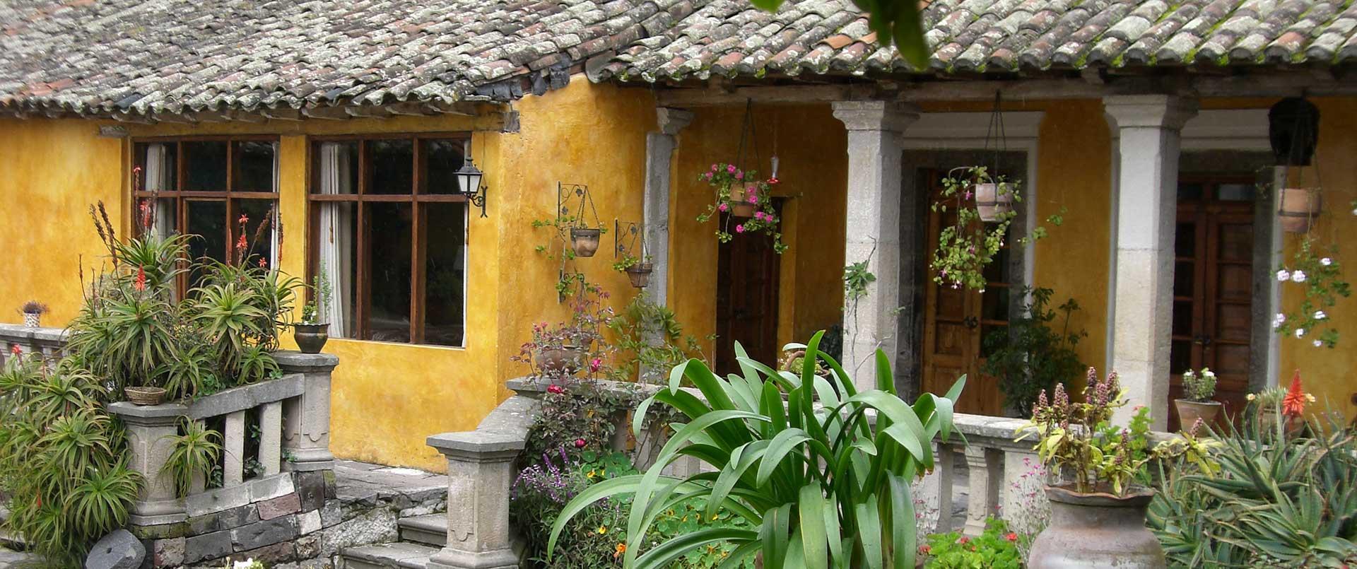 Hacienda San Augustin de Callo, Cotopaxi