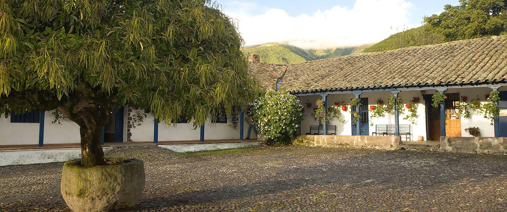 Hacienda Zuleta, northern-Sierras