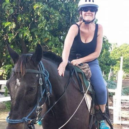 Jo Nevis Blog - Jo Horse riding