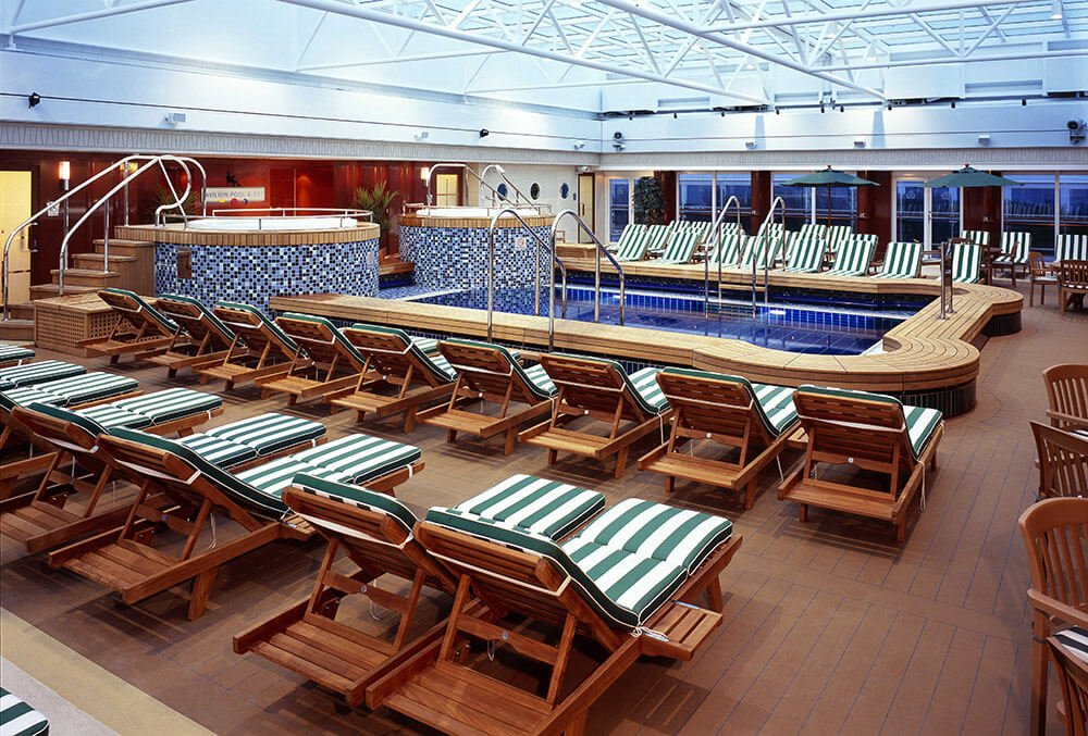 Cunard queen mary 2 ultimate travel co - Best indoor swimming pools in london ...