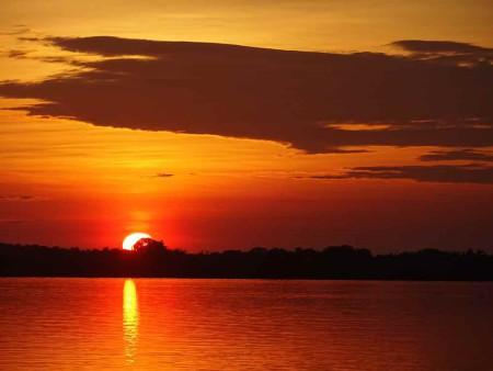 Sunset-at-Rui-Mutum,-Pantanal---Cat-Blog