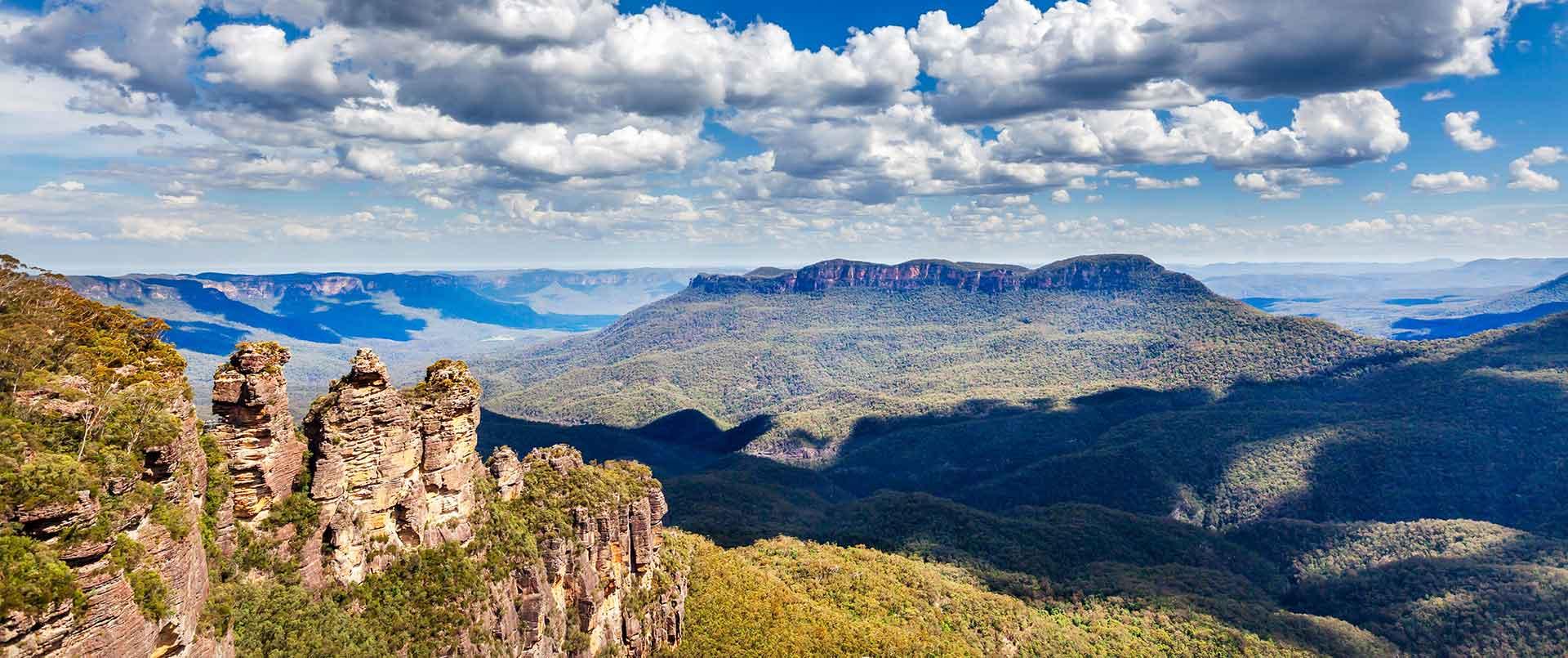 Sydney, Blue Mountains <br /> & Jervis Bay