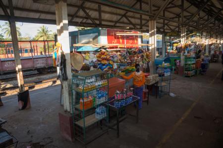 Yangon Express, blog. Station Stop (1 of 1)