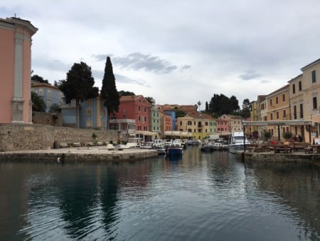 Catherine blog, Croatia 2016, Losinj port