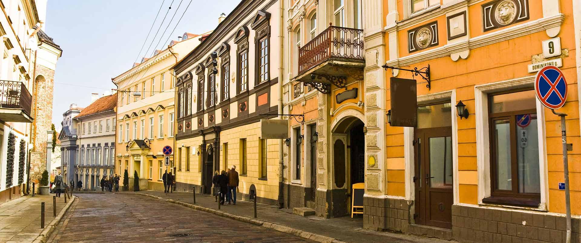 Baltic Capitals: Riga & Vilnius