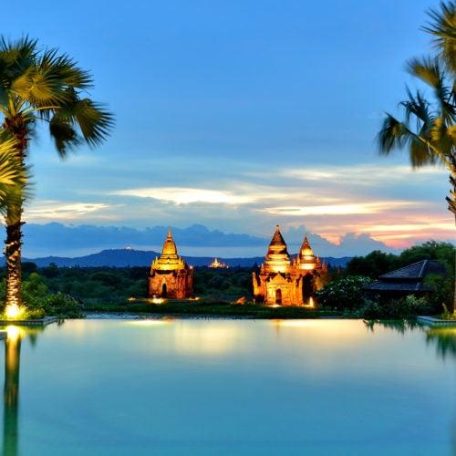 Aureum Palace Hotel, Bagan, Myanmar