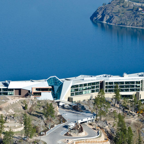 Sparkling Hill Resort, Lake Okanagan