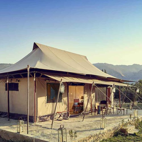 The Ultimate Travelling Camp, Chamba Camp, Diskit