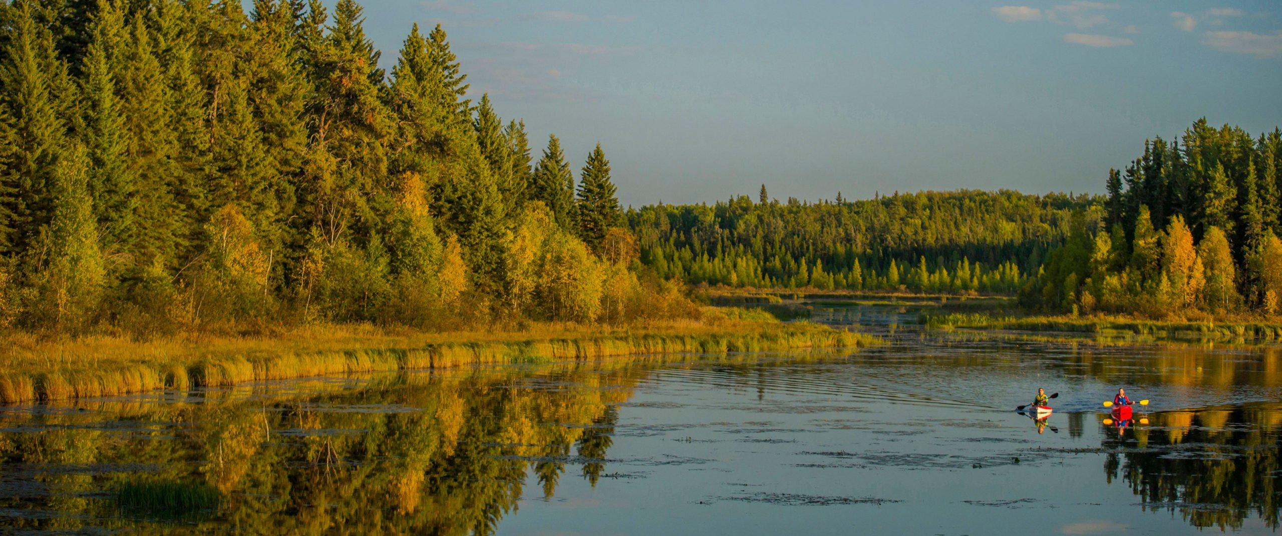 Saskatchewan and Alberta