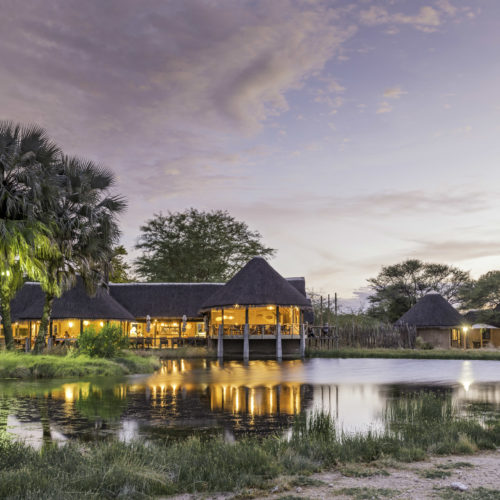 Onguma Bush Camp, Onguma Game Reserve