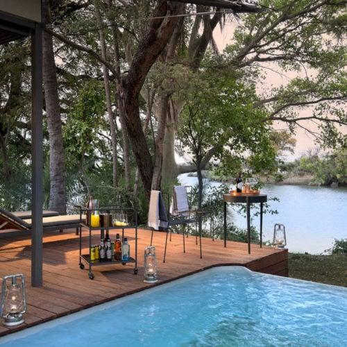 Thorntree River Lodge, Mosi-oa-Tunya National Park
