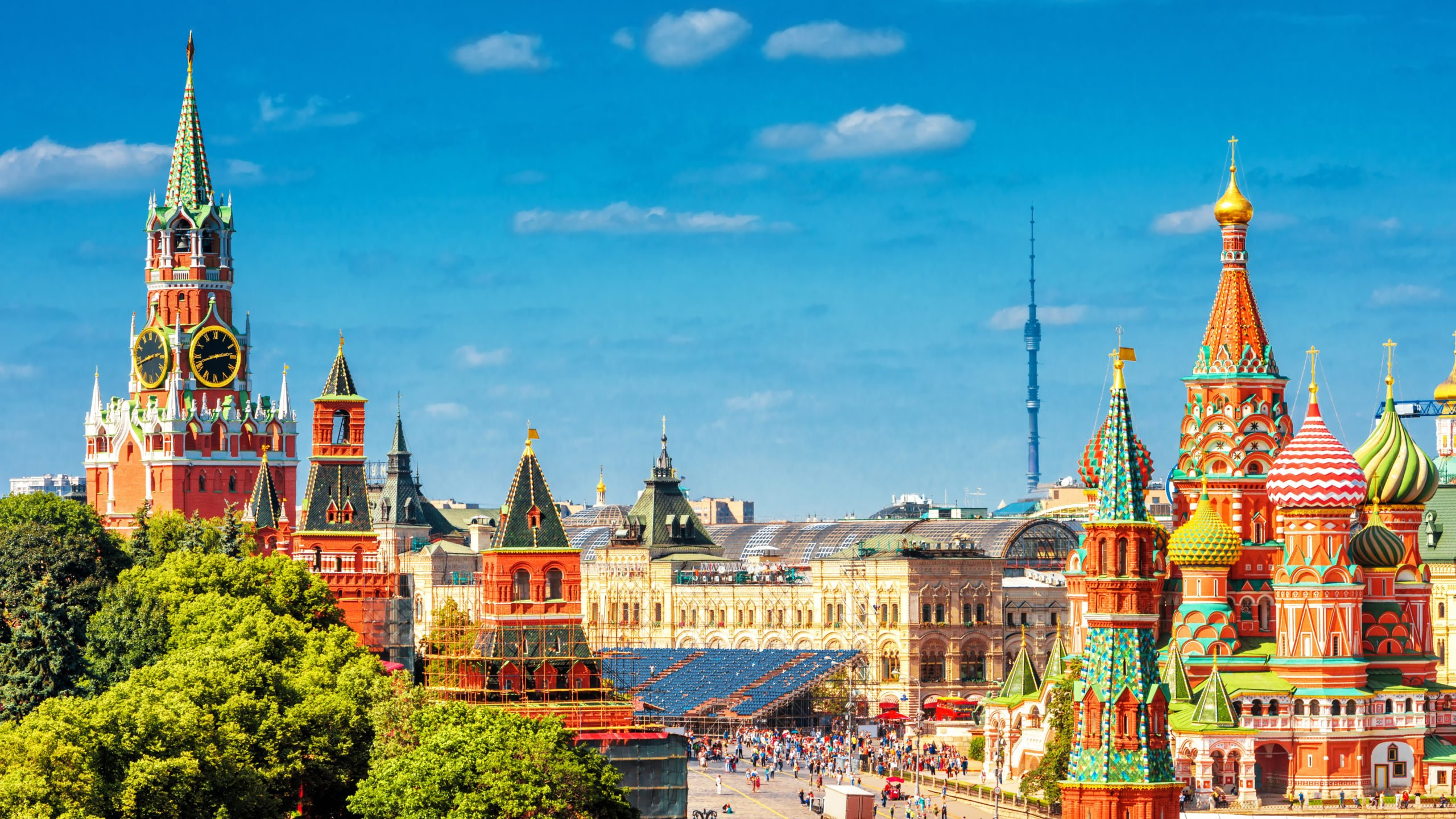 Moscow: The Heart of Russia (optional St. Petersburg extension)
